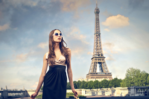French culture of the shopping in Paris and enjoying French life style in Hong Kong.